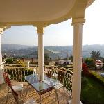 View of Kigali from Step Town Motel