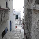 Peschici il centro storico