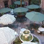 Courtyard for weddings, banquets, meetings