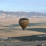 Balloons Above the Valley