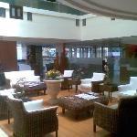 The lounge at Shilton Royale