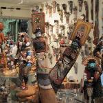 Hopi Kachina at Kachina House in Sedona