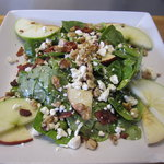 Spinage and Feta salad tossed in our Raspberry vinigerette