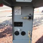 Electrical hookups include 20, 30 & 50 amp