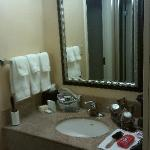 The vanity