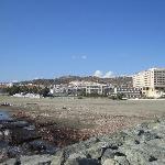 Hotel und Strand