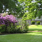The gardens at Lauriston Castle