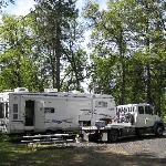 "Yosemite Ridge RV ""Resort"", Groveland - one of a very few large spaces"