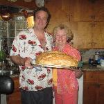 Anita's freshly baked bread 6/12/10