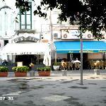 Vietri, piazzetta con Belvedere