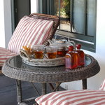tea on the porch in may