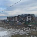 View from bottom Gondla station