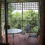Screened-in patio