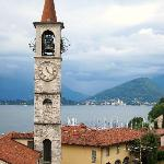 Town of Laveno from base of lift