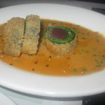Panko crusted ahi roll