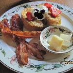 One of Mari's breakfasts