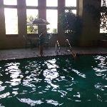 The kids lovin' the pool!