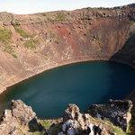 Kerid crater, near Hveragerdi