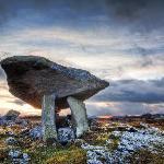A dolmen nearby
