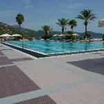 Der Village-Pool im Resort