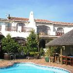 "Main House pool and ""Braai area"""