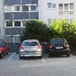 guests' car park
