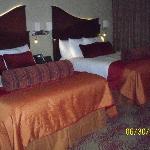 Standard two bed queen room