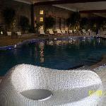 Indoor area of natatorium