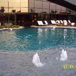 Outside area of natatorium