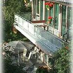 Decks overlooking Cook Inlet