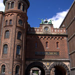 Main gate to Carlsberg Brewery