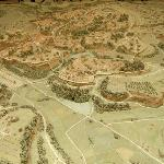 Relief map of Ancient Rome