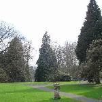 Villa Hügel: Parkanlage