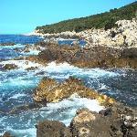 La Punta Rossa Coastline
