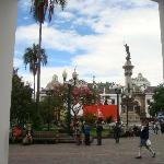 Vista de la Plaza de la Independencia