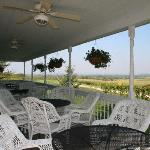 The restful deck/ porch