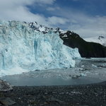 Aialik Glacier - Our view during lunch