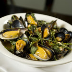 Mussels with Samphire