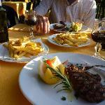 Incredible steak & fries