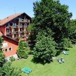 Flair Hotel Vino Vitalis Gartenseite