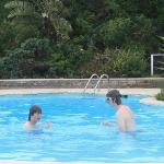 Two in the pool...
