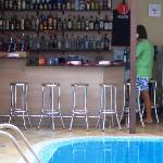 Pool/bar area