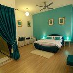 Aquamarine room