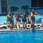 Fun times in the pool!