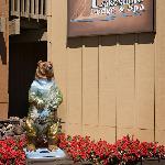 """Our mascot """"Biker Bear"""""""