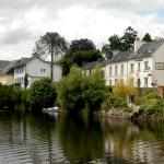 O'Briens Chambres d'Hotes and lakeside garden.