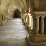 Abbey Fontenay Cloister