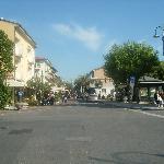 Main street of Marina de Pietrasanta