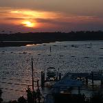 Sunset from our room - Intercoastal Waterway View