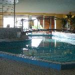 Hallenbad mit Whirlpool